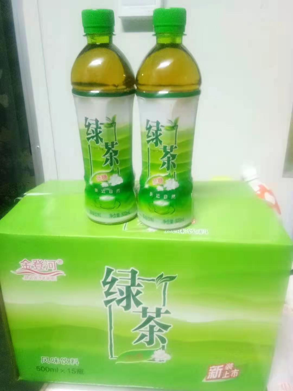 金登河绿茶500ml