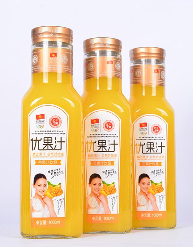 汇之果芒果优果汁1LX6