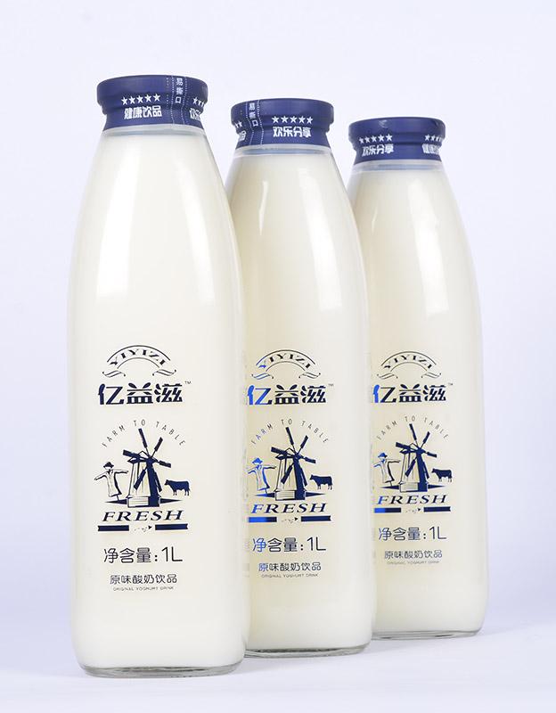 �|溢滋酸奶1LX6