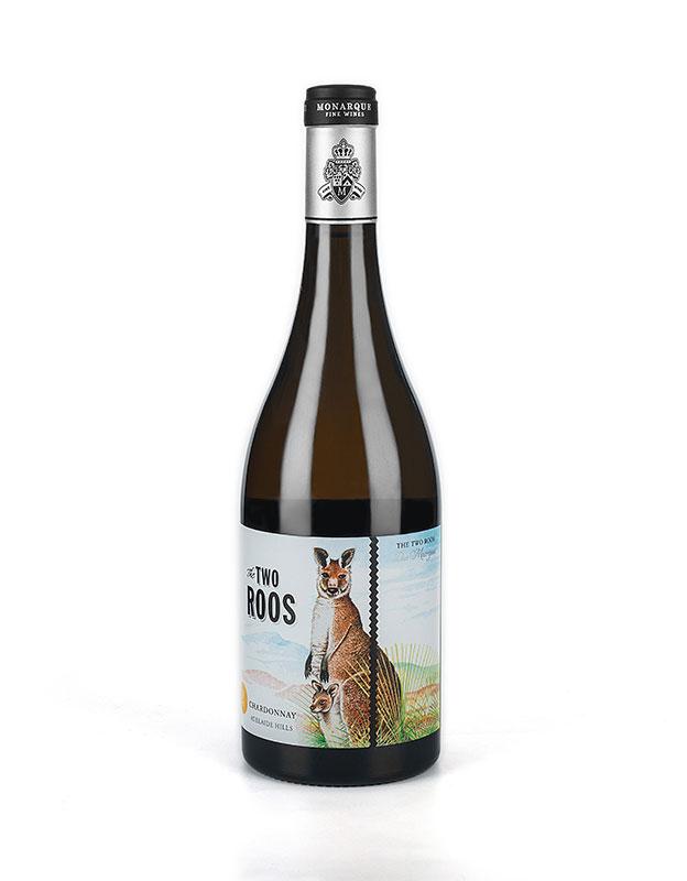 摩纳克2016 two roos袋鼠莎当妮干白葡萄酒—摩纳克庄园葡萄酒招商