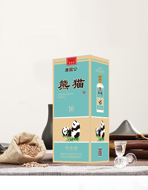 唐��公熊�酒10�u香型白酒【53°500ml】