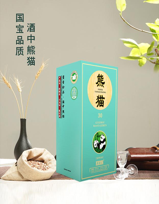 唐��公熊�酒30�u香型白酒【53°500ml】