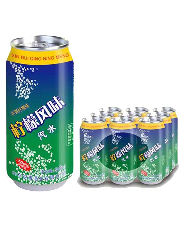 雪柠檬碳酸饮料500ml