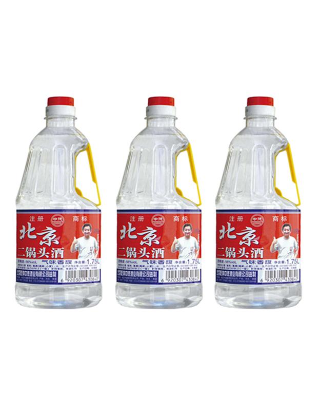 56度北京二锅头酒1.75L