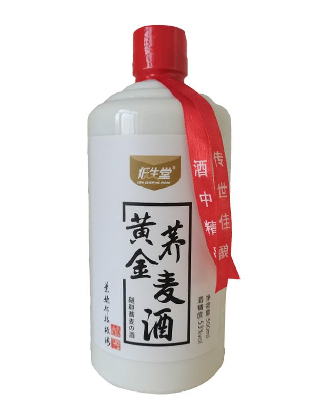 53度低生堂黄金荞麦酒