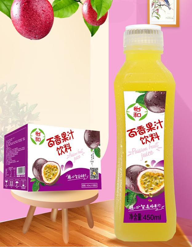 怡和百香果汁�料450ml