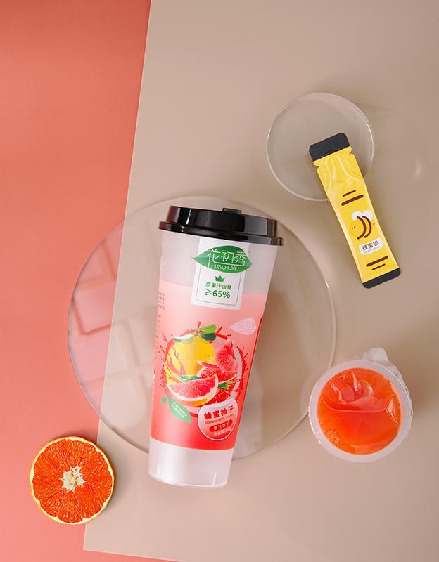花初秀蜂蜜柚子果汁饮料