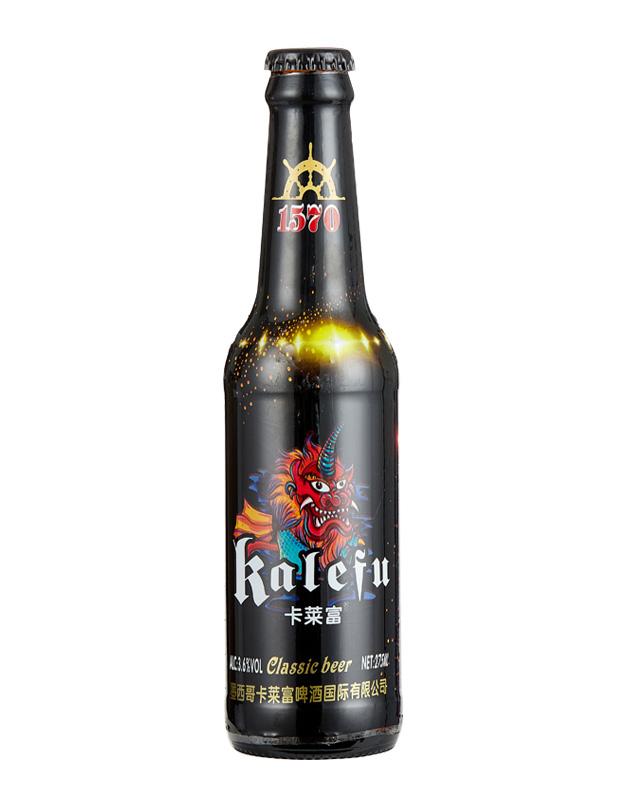 卡�R富黑金貔貅啤酒