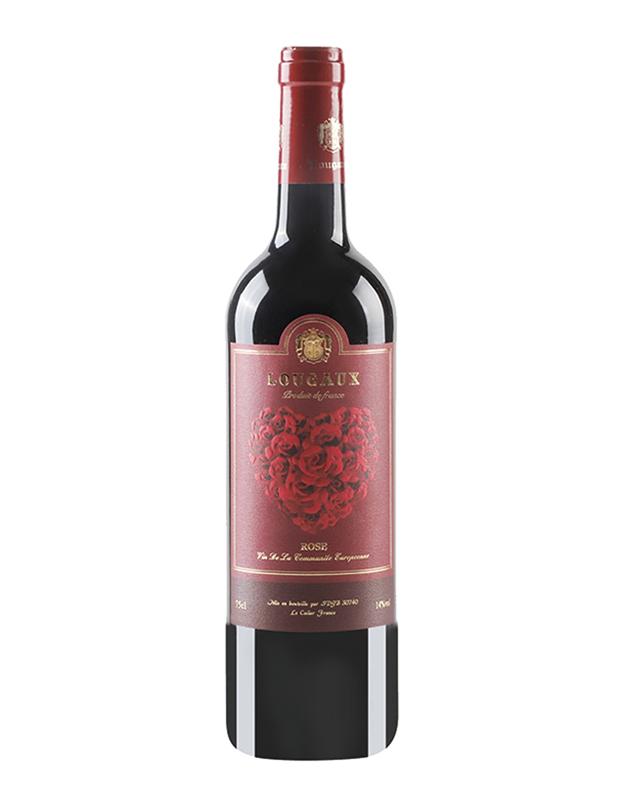法国卢歌玫瑰干红葡萄酒