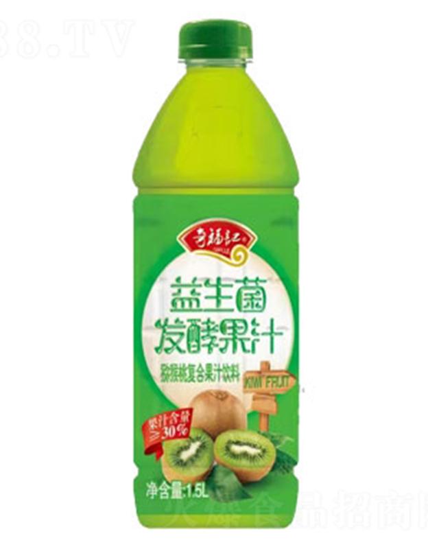 奇福�益生菌�l酵�J猴桃汁1.5L