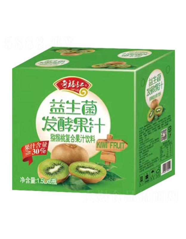 奇福�益生菌�l酵�J猴桃汁1.5LX6
